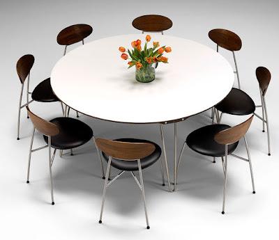 แบบโต๊ะกลม