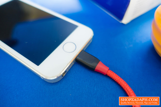 tronsmart braided lightning cable review