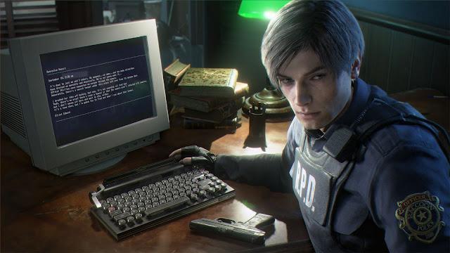 Resident Evil 2 - Leon e la tastiera