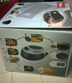 Beli Double Intelligent Turbo Air Fryer Riino Dari CJ Wow Shop
