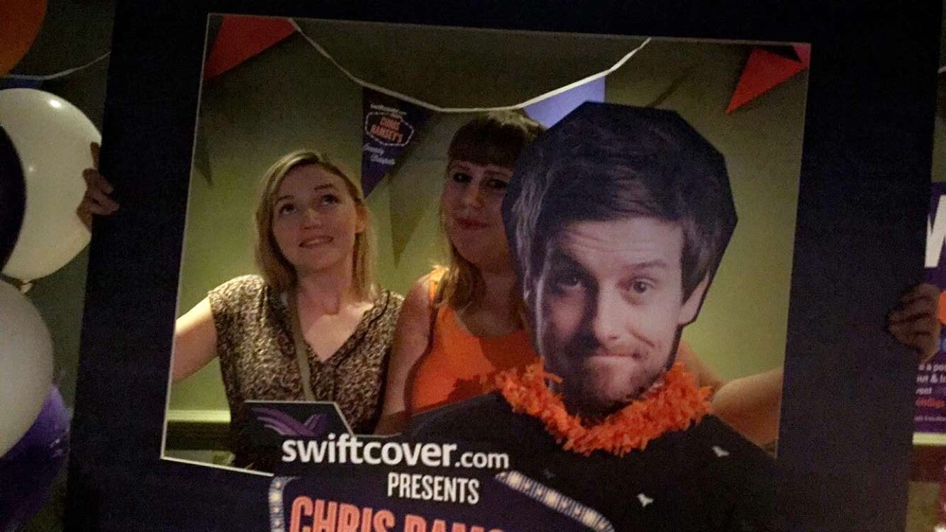Formidable Joy - UK Fashion, Beauty & Lifestyle Blog   Comedy   Chris Ramsey's Comedy Hotspots with Swiftcover; Formidable Joy   Formidable Joy Blog   Chris Ramsey   Swiftcover