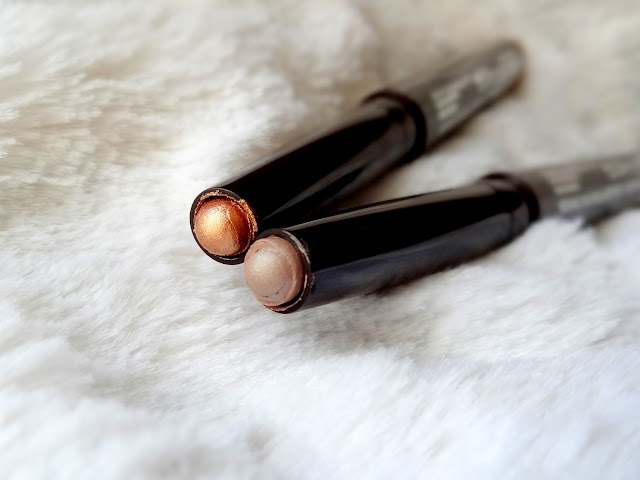 Laura Mercier Caviar Stick Eye Colours in Copper and Grey Pearl