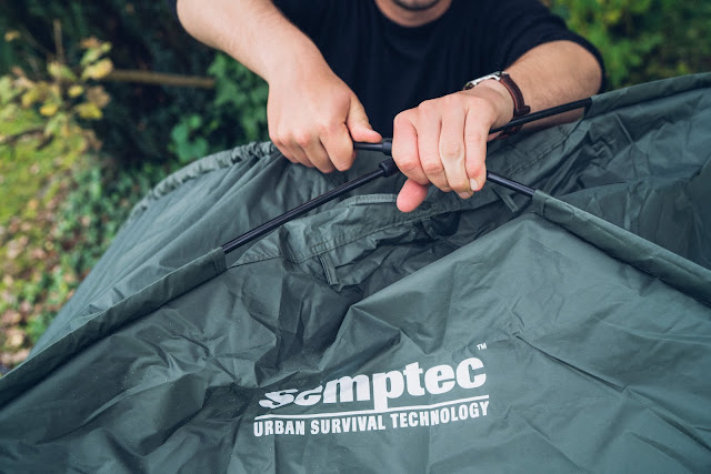 Semptec Urban Survival Technology 4in1 Feldbett-Zelt  Zelt-Review  Semptec-Zelt 10
