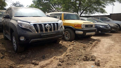 17 vehicles found in Inde's possession
