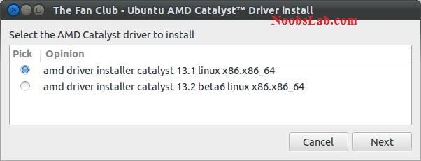 Install ATI AMD Catalyst drivers in Ubuntu 13 04/12 10/12 04