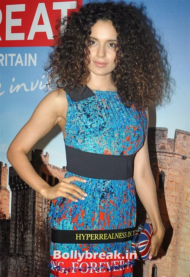 Kangana Ranaut, Kangana Ranaut, Others at Bollywood in Britain App Launch