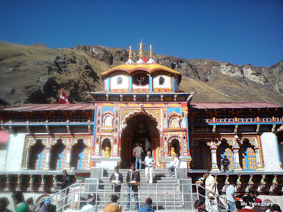 Badrinath temple, One of the Char Dhams in the Garhwal Himalayas