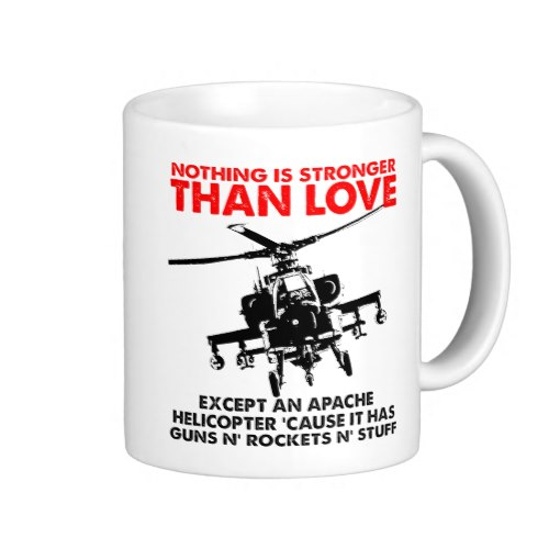 Nothing is Stronger Than Love... | Funny Coffee Mug