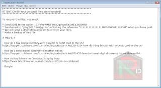 010001 Ransomware note шифровальщик-вымогатель