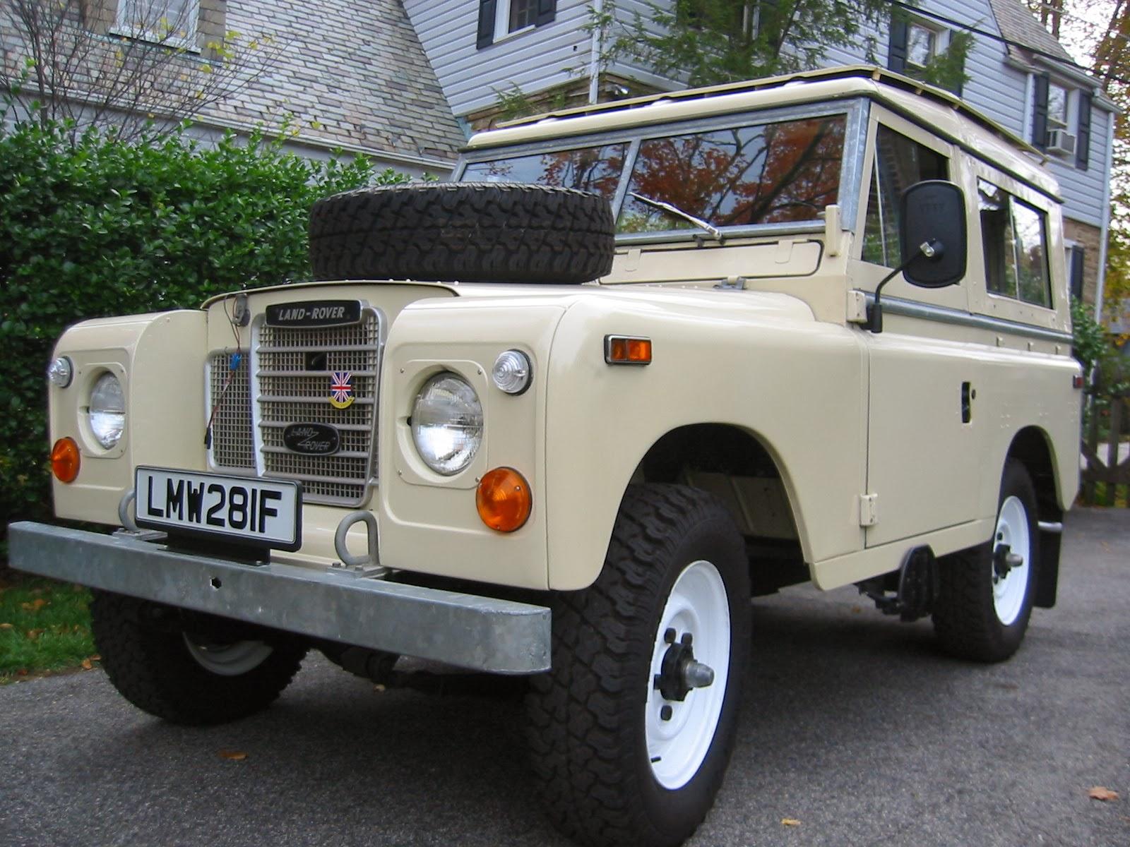 the pinehurst land rover society: 1974 series iii for sale