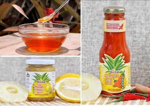 Nictar Bee pineapple farm varieties products