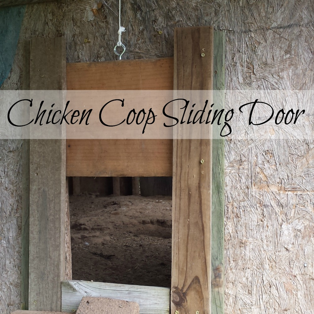 How to make a pop door for the henhouse & Chicken Coop Sliding Door - Oak Hill Homestead pezcame.com