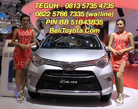 Harga Toyota, Spesifikasi, Ilustrasi Kredit Toyota All New Calya Baru 2016 di Surabaya, Jatim