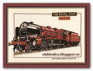 "Heritage Crafts Серия: Trains CRS124 ""Royal Scot"""