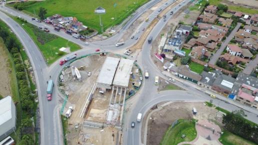 En un año serían entregadas actuales obras de la vía Bogotá (Fontibón) - Facatativá - Los Alpes