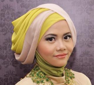 Model Hijab Pesta Kebaya