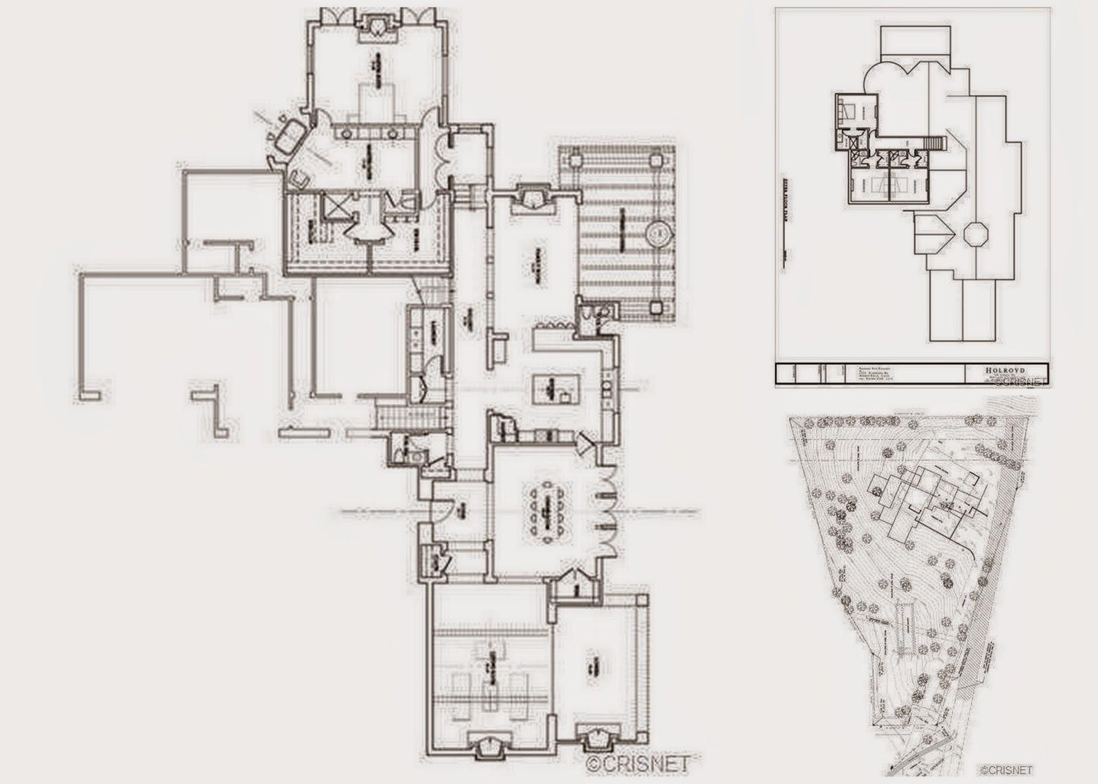 Kim Kardashian Beverly Hills House Floor Plan