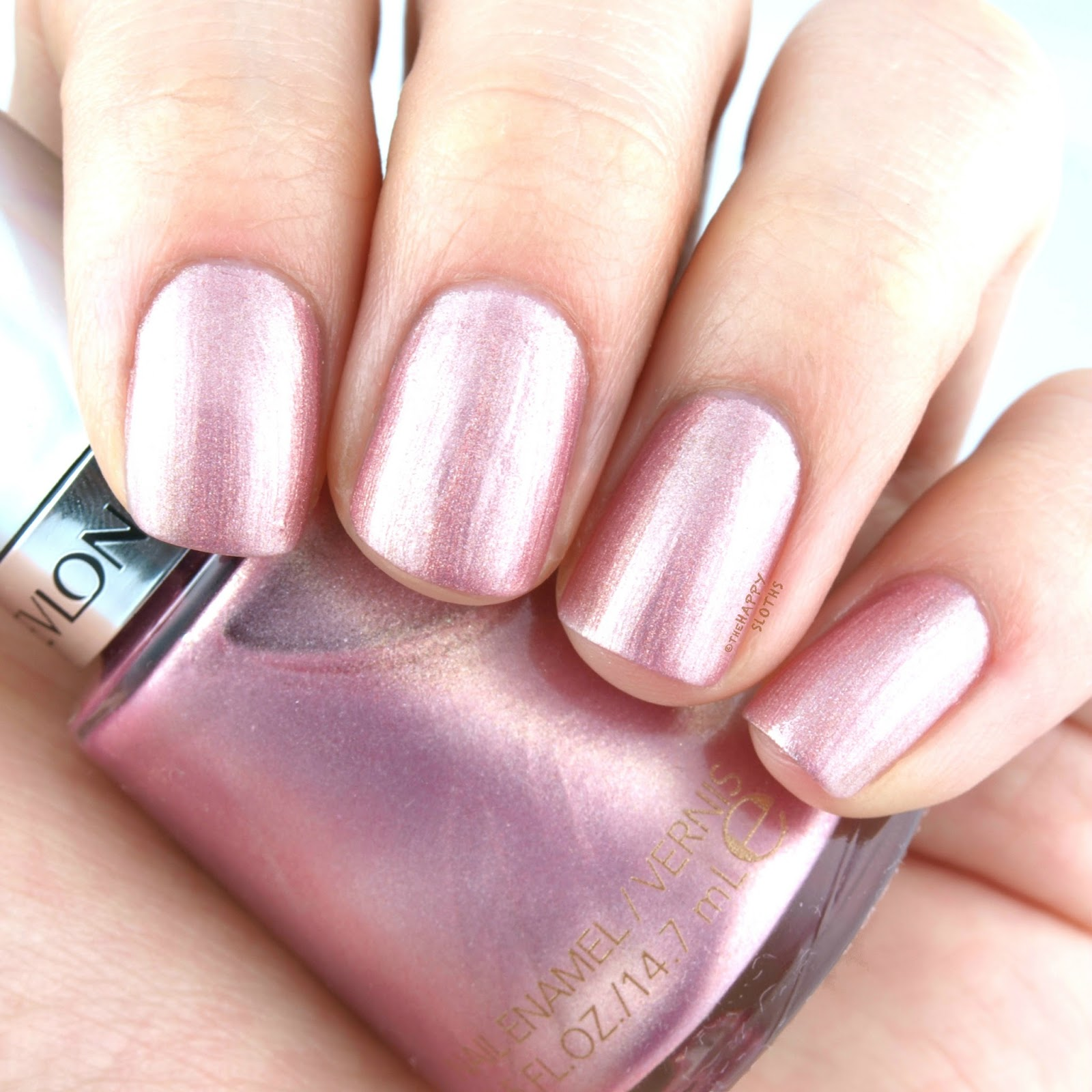 "Revlon Holochrome Nail Polish Collection in ""125 Blushing"": Review and Swatches"
