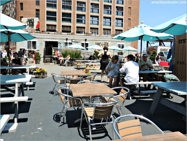 Terraza del James Hook & Company en Boston