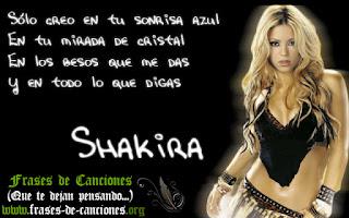 frase de amor shakira