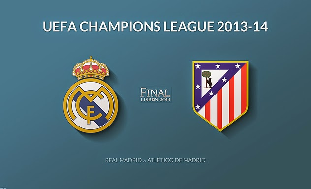 Atletico Madrid Vs Real Madrid: Final Lisboa 2014: Real Madrid Vs. Atlético De Madrid
