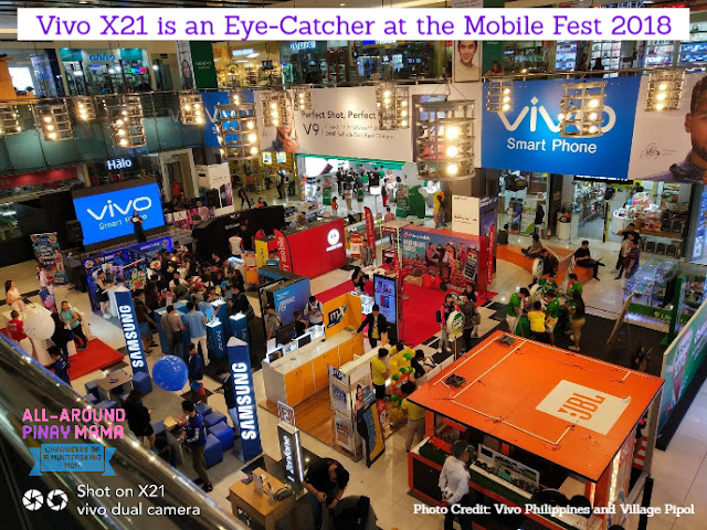 All-Around Pinay Mama, SJ Valdez, Vivo, Vivo Philippines, Vivo X21, Mobile Fest 2018, Press Release, Gadgets, Technology,
