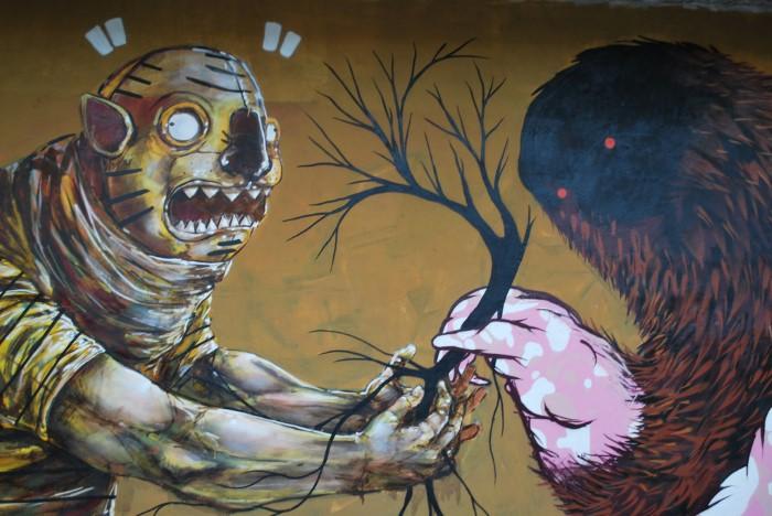О насилии и биполярности человеческого разума. Franco Fasoli Jaz
