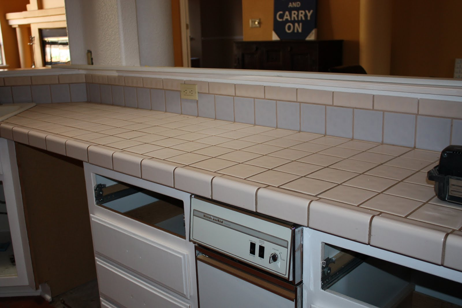 Kitchen Countertops: Quick Install Of Concrete Countertops