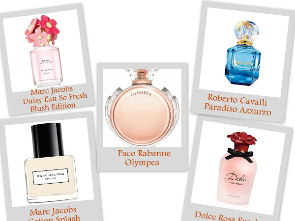 Fragrances for Spring 2016