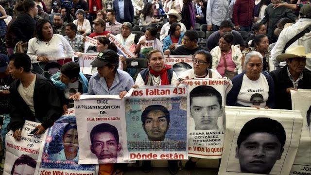 Informe: México tiene deuda con familiares de 32.000 desaparecidos