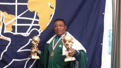 Mr Prince Kennedy, an indigene of Imo state, Breaks World Record In Power Lifting Competition In The UK (Photos) Hkn5