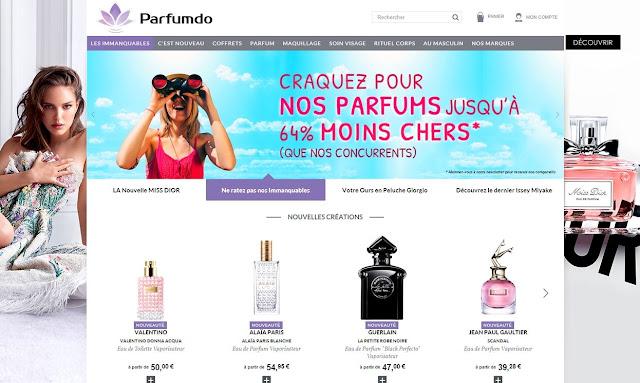 Parfumdo, la parfumerie en ligne bon plan ! - Avis blog beauté