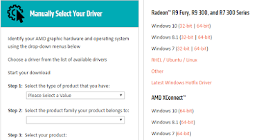 Cara download driver AMD