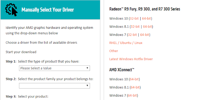 Cara download driver AMD