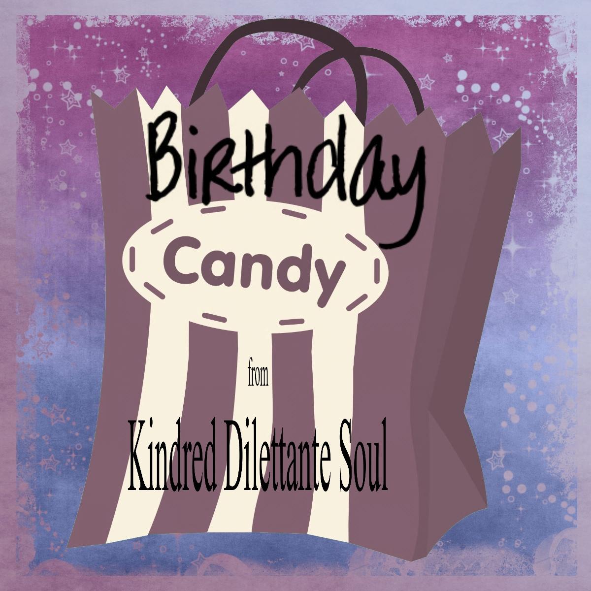 Tracy's Birthday Candy