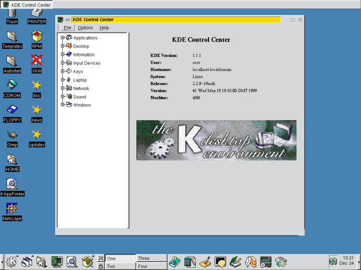 KDE 1