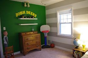 A Million Tiny Little Things John Deere Room Tour