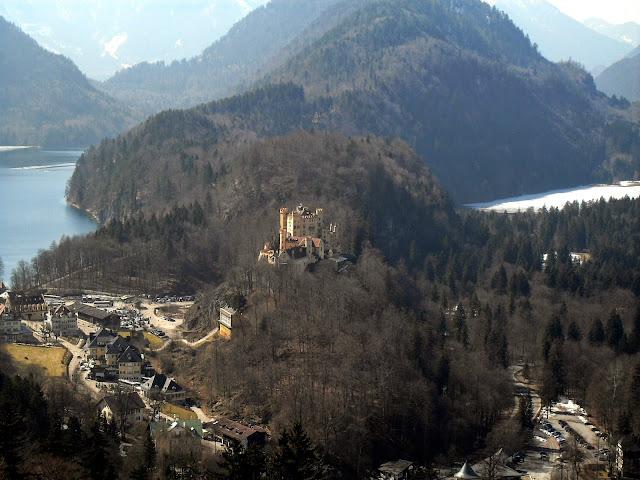 Alpes y castillos en Baviera