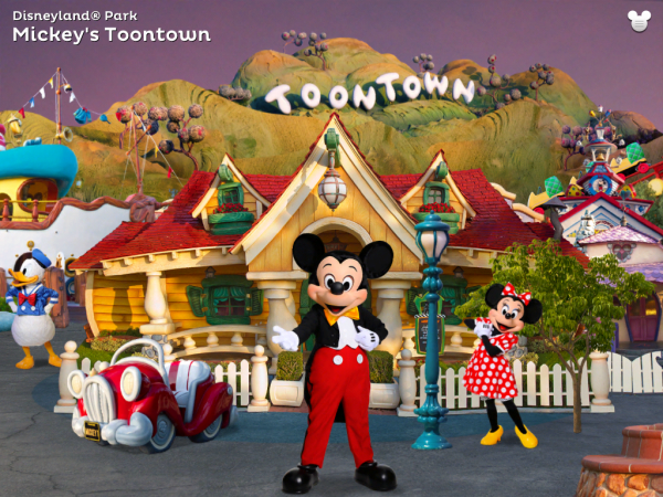 screenshot of the disney app