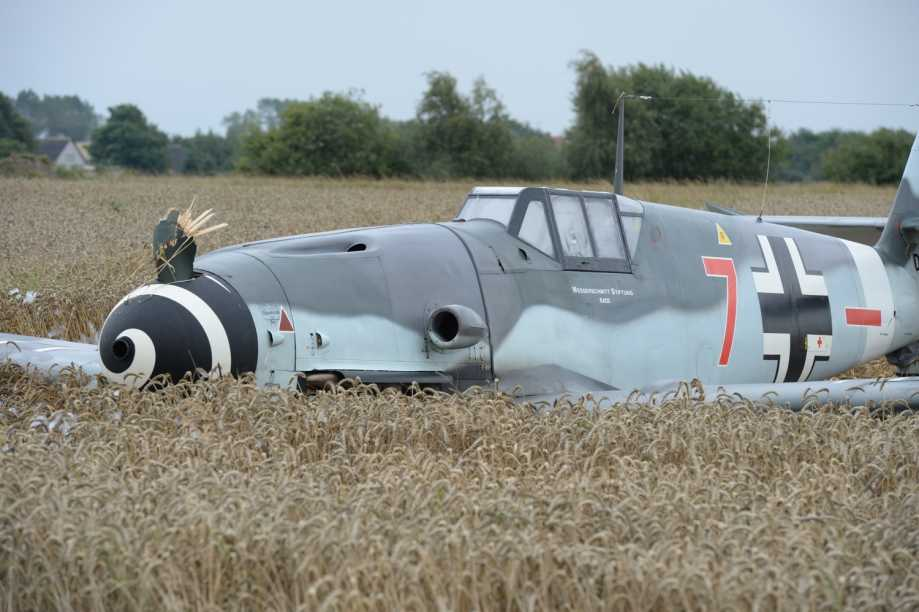 Accident Cars For Sale In Denmark: The Awesome Always: Airworthy Messerschmitt BF109 Crashes