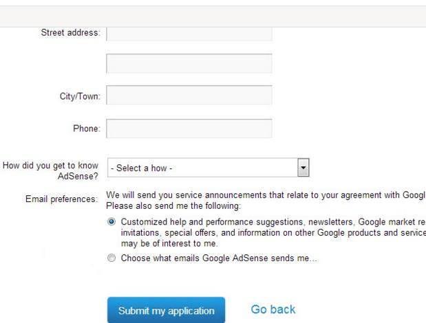 5 Cara Untuk Mendaftar Google Adsense
