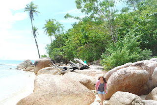 pantai batu kalang indah tarusan pesisir selatan
