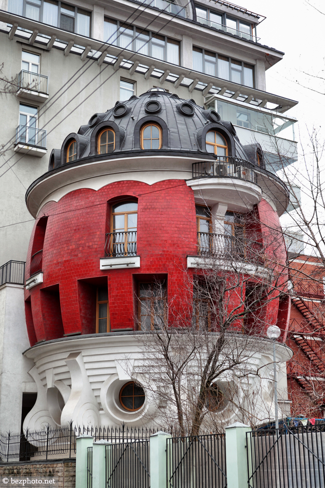 дом яйцо в москве