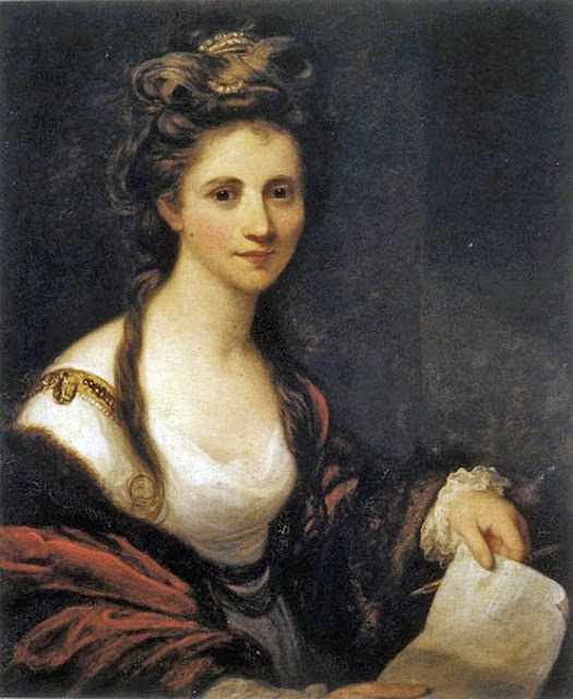 Angelica Kauffmann, Self Portrait, Portraits of Painters