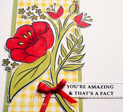 Heart's Delight Cards, All That You Are, Strong & Beautiful, CTD535, Occasions 2019, Stampin' Up!