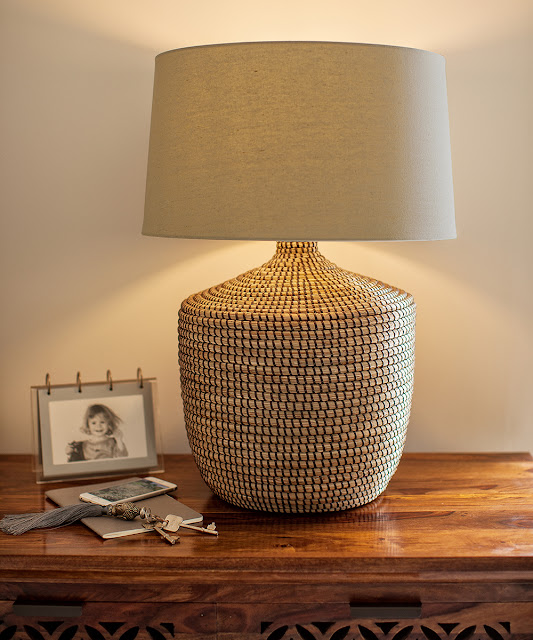Java Large Seagrass Lamp