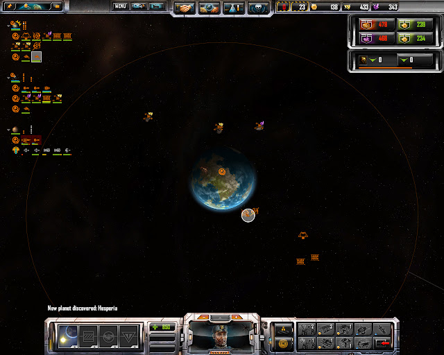 Home Planet Screenshot | Sins of a Solar Empire: Rebellion