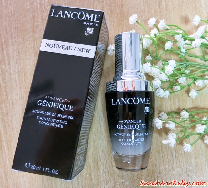 Lancome Advanced Genifique Youth Activating Concentrate, beauty review, product review, lancome advanced genifique, anti aging serum, Lancome, skincare, beauty