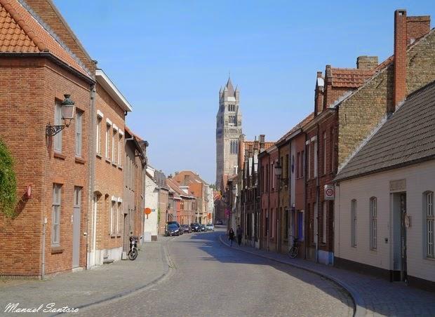 Bruges, camminando nella città vecchia