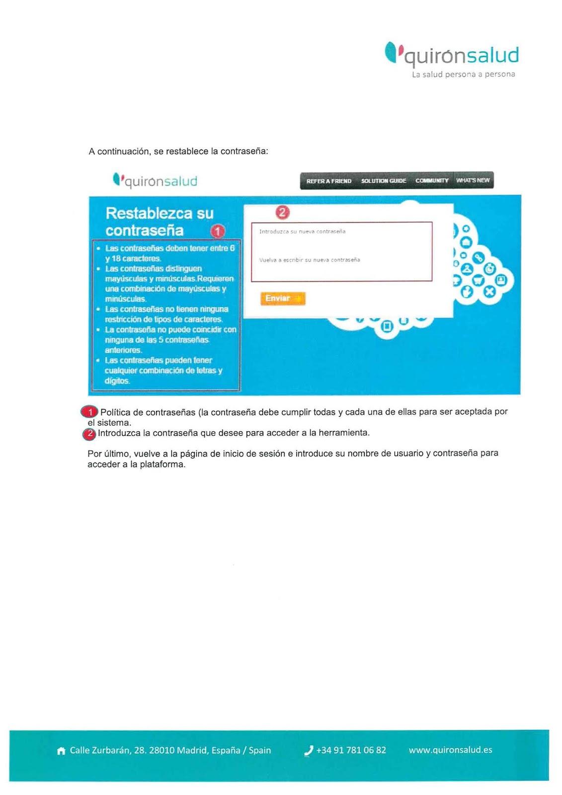 CCOO Fundación Jiménez Díaz: Instrucciones nuevo portal del